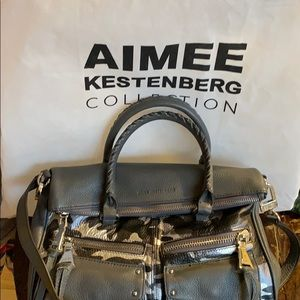 Convertible satchel handbag